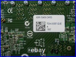 Adaptec ASR-72405 1024 Mb 6 Gb/s Mini SAS HD RAID Card NO BBU