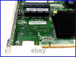 Adaptec ASR 72405 1GB SAS SATA PCIe Raid Controller 2274900-R with Batter