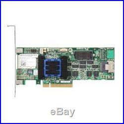 Adaptec RAID 6405 4-Port PCI-Express 2.0 x8 SAS/SATA RAID Controller Card Kit