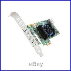 Adaptec RAID 6405E 4-Port PCI-Express 2.0 x1 SAS/SATA RAID Controller Card