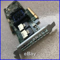 Adaptec Raid Controller ASR-6805T 8 Ports PCIE2 x8 512MB + BBU Battery AFM-600CC