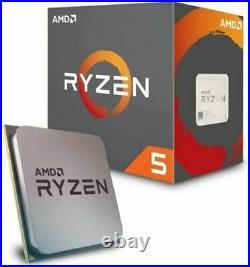 Amd Ryzen 5 2600 Bundle 6 Core Asrock A320m-hdv Motherboard
