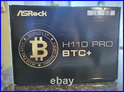 Asrock H110 Pro BTC Intel H110 LGA 1151 13 GPU Mining Board NEXT DAY