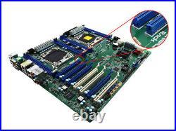 Asrock Rack Ep2c612 Ws Intel C612 Socket Lga2011 R3 Ssi Eeb Motherboard As Is