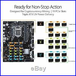Asus B250 Mining Expert Motherboard withTracking# form JAPAN Free shipping NEW