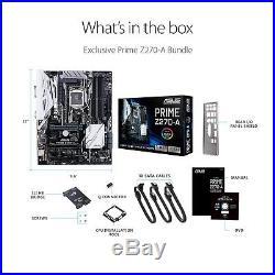 Asus Motherboard PRIME Z270-A LGA1151 Z270 DDR4 SATA PCI Express DisplayPort