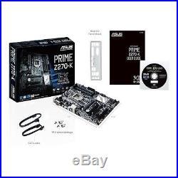 Asus Motherboard PRIME Z270-K S1151 Z270 DDR4 SATA PCI Express HDMI/DVI/D-Sub