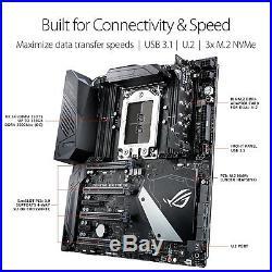 Asus Motherboard ROG CROSSHAIR VI EXTREME AMD AM4 Ryzen X370 DDR4 SATA PCI E