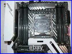 Asus Prime X299-Deluxe LGA2066 DDR4 M. 2 Wifi USB Type-C Motherboard Latest Bios