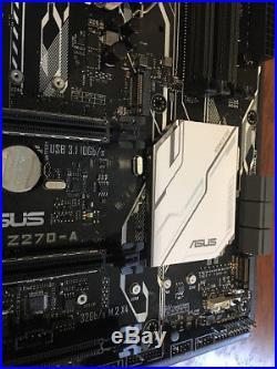 Asus Prime Z270-A DDR4 SATA PCI Express ATX Motherboard HDMI, SATA 6Gb/s