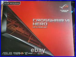 Asus ROG CROSSHAIR VI HERO Motherboard CPU AM4 AMD Ryzen DDR4 USB 3.1 RGB LED