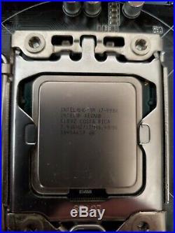 Asus Sabertooth X58 + Intel core i7-990x extreme + 24g dram 1866mhz