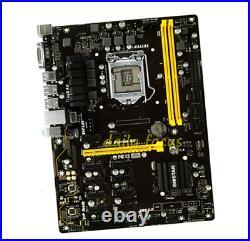 BIOSTAR TB250-BTC PRO LGA 1151 Intel B250 USB 3.0 12GPU MINING ATX Motherboard