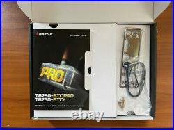 BIOSTAR TB250-BTC PRO withIntel G3930 CPU @2.90Ghz + 4GB RAM