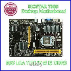 BIOSTAR TB85 LGA1150 ATX Intel Mining Motherboard 6GPU 6PCI-E DDR3 16G SATA3