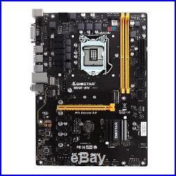 Biostar Core i7/i5/i3 LGA1151 Intel B250 DDR4 SATA PCI Express USB ATX TB250-BTC