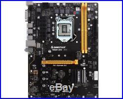 Biostar Motherboard TB250-BTC Core i7/i5/i3 LGA1151 Intel B250 DDR4 SATA PCI USB