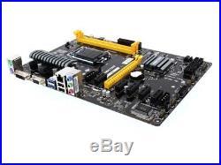 Biostar Motherboard TB85 Core i7/i5/i3 LGA1150 B85 DDR3 SATA PCI Express USB ATX