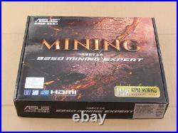 Brand NEW ASUS B250 Mining Expert Motherboard 19 GPU LGA1151 for BTC/ETH/ETC/ZEC