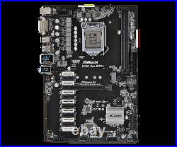 Brand New ASRock H110 Pro BTC+ Mining Motherboard with 13 PCI Express