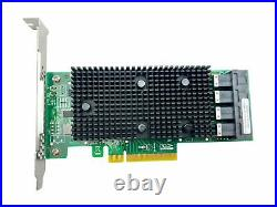 Broadcom LSI 9400-16i SATA / SAS HBA Controller RAID 12Gbps PCIe x8 IT Mode JBOD