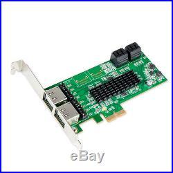 Bundle 4 Int. + 4 Ext. 8 Ports SATA III PCI-E x2 V2.0 Slot + Oblanc Tote Bag