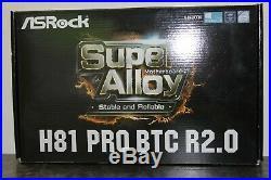 COMBO INTEL I3-4170 3.7GHz, 16GB RAM + ASRock H81 Pro BTC R2.0 ATX Motherboard