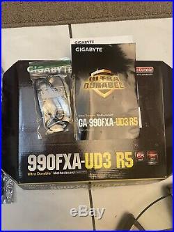 COMBOGIGABYTE GA-990FXA-UD3 R5 & FX 8350 Cpu
