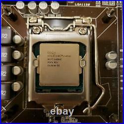 CPU Combo Intel Core i7 4770k ASUS Z87-A Motherboard 16 GB Ram Wifi PCI-E