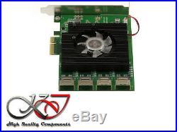 Controleur PCIE SATA III 6GB /// 16 PORTS /// MARVELL 88SE9215