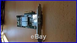 Dell Dual Port 6Gbps External SAS HBA Controller Card PCI-E