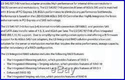 Dell R76Y4 LSI SAS 9217-8i Host Bus Adapter RAID PCI-E SATA/SAS 8-Port 6Gbps