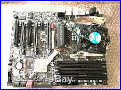 EVGA X58 (132-BL-E758-BR) Motherboard, i7 2.8ghz cpu, 12gb ram, EVGA GTX470