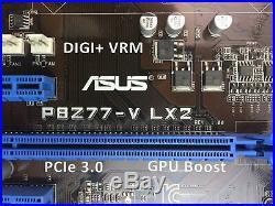 FOR ASUS P8Z77-V LX2 Intel Motherboard Z77 LGA 1155/Socket H2 DDR3 full tested