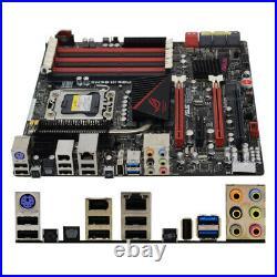 For ASUS Rampage III GENE Motherboard LGA 1366 Intel X58 DDR3 SATA 6Gb/s uATX