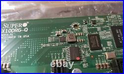 For Parts SuperMicro X10DRG-Q rev 1.02 LGA 2011 R3 Intel C612 Server Motherboard