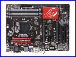 GIGABYTE G1. Sniper Z6 LGA 1150 Motherboard Intel Z97 DDR3 ATX USB3.1 VGA SATA3