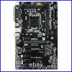 GIGABYTE GA-H110-D3A DDR4 LGA 1151 Intel H110 6GPU 6PCIE Motherboard