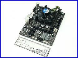 GIGABYTE GA-H81M-H LGA1150 MICRO ATX MOTHERBOARD With i5-4570 3.2GHz 4GB RAM