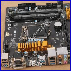 GIGABYTE GA-H97M-D3H, LGA 1150, Intel Motherboard H97 Express Micro ATX DDR3