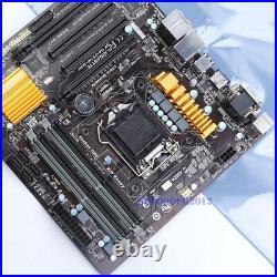 GIGABYTE GA-Z97M-D3H Motherboard Intel Z97 LGA 1150 DDR3 SATA DVI USB 3.0 6Gb/s