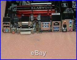 GIGABYTE Intel H97 Motherboard G1. Sniper H6, LGA 1150 DDR3 HDMI DVI USB 3.0 ATX