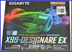 GIGABYTE X99 Designare EX (rev. 1.0) LGA2011-3 ATX Intel Motherboard