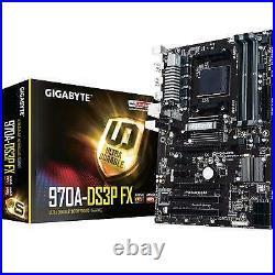 Gigabyte 970A-DS3P FX Rev. 2.1 Amd Socket Am3+ Atx Ddr3 Usb 3.1 Motherboard