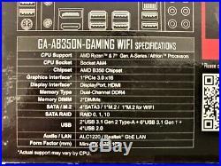 Gigabyte AB350N-Gaming Wi-Fi Motherboard