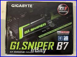 Gigabyte ATX DDR4 LGA 1151 Motherboards GA-G1. Sniper B7 #4834