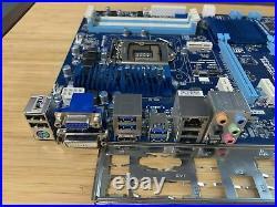 Gigabyte ATX Motherboard GA-Z77-D3H REV. 1.1 LGA 1155 DDR3 mSATA Tested