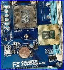 Gigabyte Combo GA-P67-DS3-B3 + G530 2.4Ghz, LGA1155 P67 DDR3 + IO shield