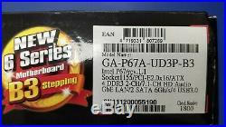 Gigabyte GA-P67A-UD3P-B3 Intel P67/rev 1.1/Socket LGA1155/PCI-E 2.0x 16/ATX NEW
