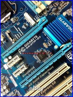 Gigabyte GA-Z77P-D3 Intel Z77 LGA1155 DDR3 HDMI SATA3.0 PCI-E3.0 Motherboard ATX